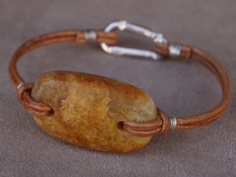 Bracelet Pierre Ambre