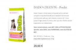 Croquettes DADO CHATONS POULET
