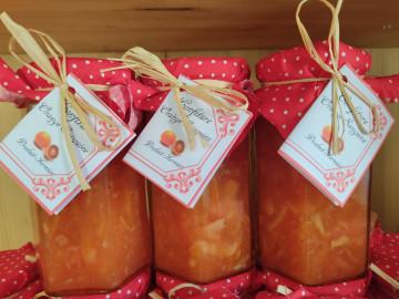 Confiture orange sanguine Au verger saint joseph saint martin vésubie