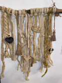 Attrape-rêve bois, laine, corde