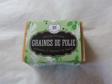 SAVON GRAINES DE FOLIES