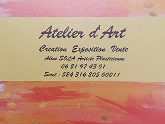 ATELIER D'ART  Aline SOLA